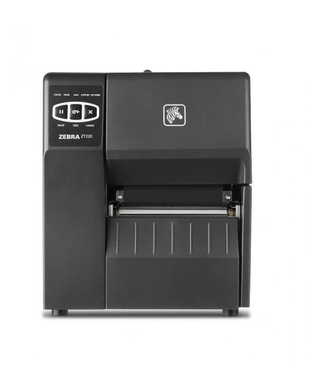 Zebra ZT220 imprimante code barre transfert thermique-203Dpi-USB