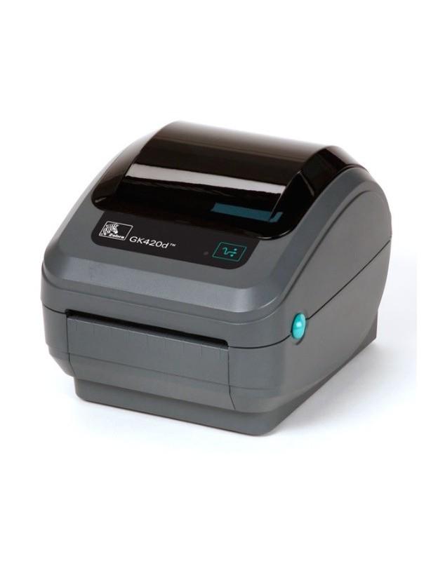 Zebra GX420D imprimante code barre thermique-203Dpi-USB