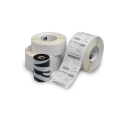 Carton de 6 rouleaux etiquettes polyester alu Z-Ultimate 3000T-76x76mm-76-200-1890