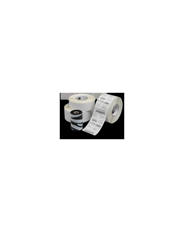 Carton de 4 rouleaux d'etiquettes polyester argent Zebra Z-Ultimate 3000T-102x76mm-Perm-76-200-1890-4