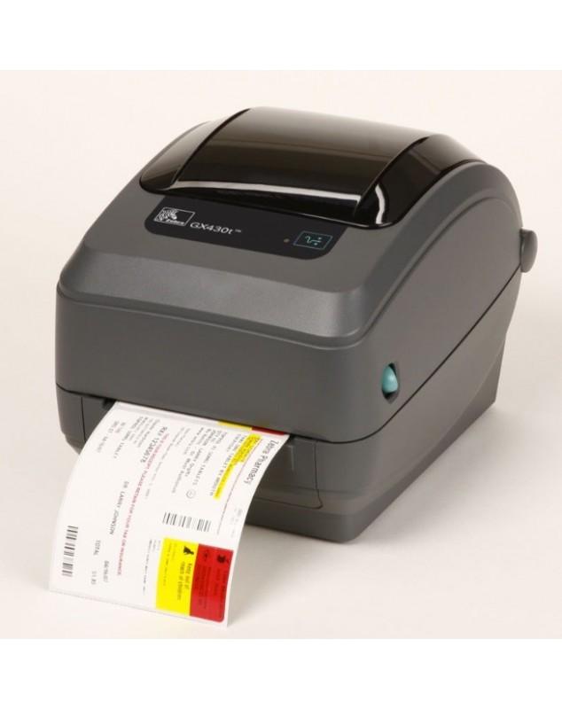 Zebra GX430T imprimante code barre transfert thermique-300Dpi-USB