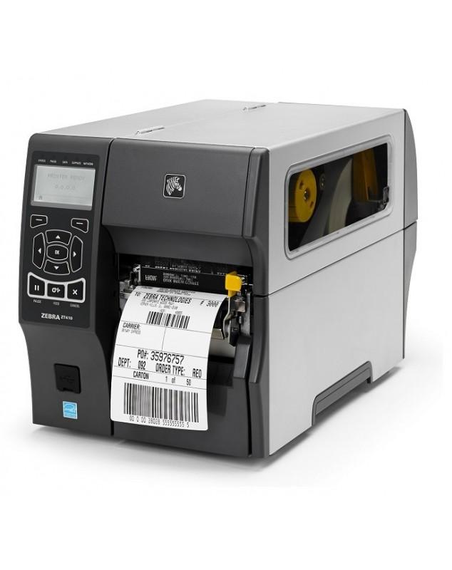 Zebra ZT410 imprimante code barre transfert thermique-203Dpi-USB