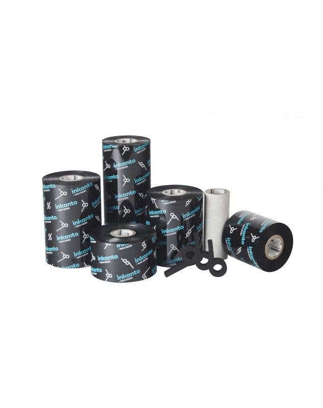 Carton de 10 rubans transfert thermique cire-resine Inkanto APR6-80mmx300m-10E