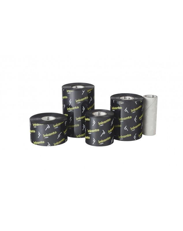 Carton de 5 rubans transfert thermique cire Inkanto AWR8-154mmx450m-5E