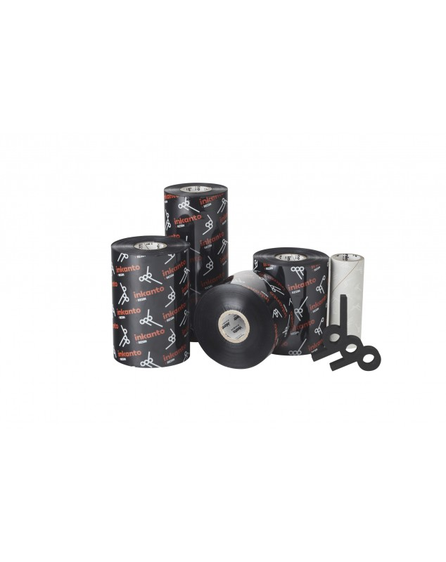 Carton de 10 rubans transfert thermique resine Inkanto AXR7+-83mmx360m-10I