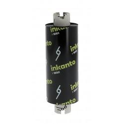 Carton de 25 rubans transfert thermique cire Inkanto AWR8-110mmx74m-25E