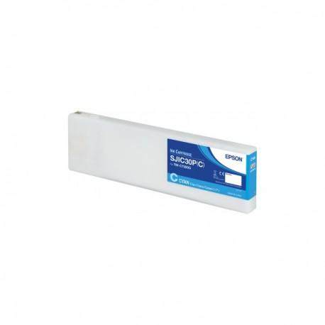 Cartouche d'encre Epson C7500  - cyan brillant