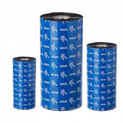 Carton de 12 rubans transfert thermique resine Zebra 4800-80mmx450m-12E