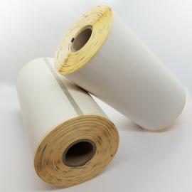 Carton de 16 rouleaux d'etiquettes thermique Zebra Z-Select 2000D* 102x102mm-16 pour imprimante portable QLn et ZQ600