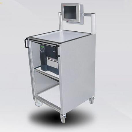 Station mobile informatique et d'étiquetage E.R.M. Powertec