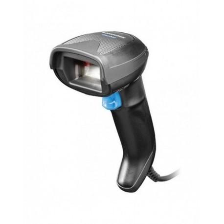 Lecteur code barre filaire Datalogic Gryphon GD4520, 2D en kit USB, noir, support