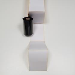 Boite de 2000 étiquettes paravent 110x150mm velin permanent