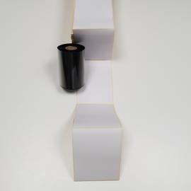 Etiquettes paravent 110x150mm velin permanent