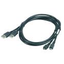 USB Cable Zebra - Cable de liaison USB entre cradle et PC