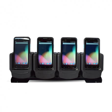 Unitech charging station 5 slots pour EA602 - Chargeur 4 PDA