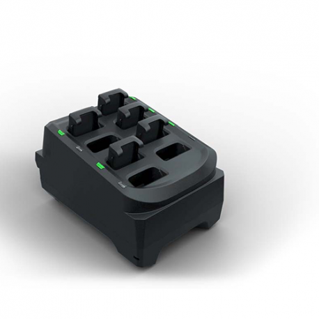 Zebra battery charging station 8 slots pour RS5100 - Chargeur 8 batteries