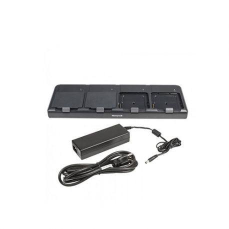 Honeywell battery charging station 4 slots pour EDA71 - Chargeur 4 batteries