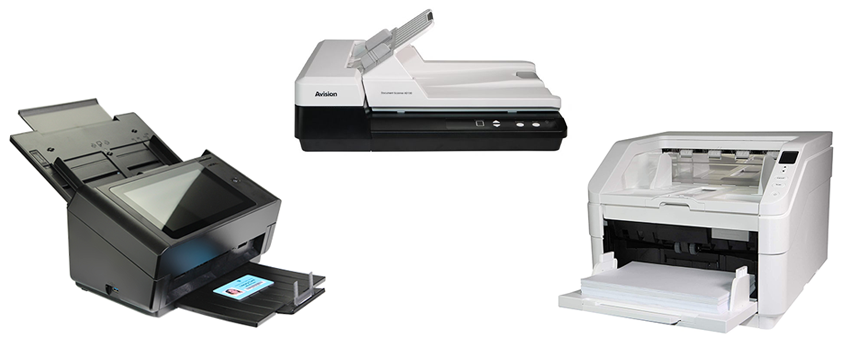 SCANNERS DE DOCUMENTS
